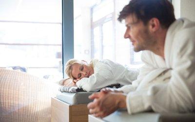 Entspannung ist ein wichtiger Bestandteil einer Schrothkur