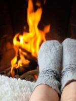 Eine Auszeit am Kaminfeuer