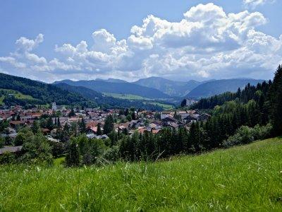 Oberstaufen im Sommer