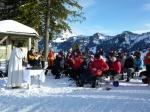 Berggottesdienst im Winter