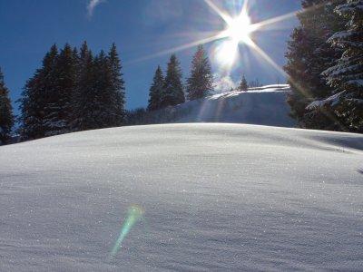 Sonnenglück in Oberstaufen