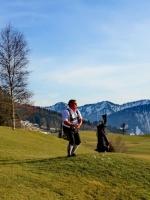 Golfen im Frühjahr im Allgäu