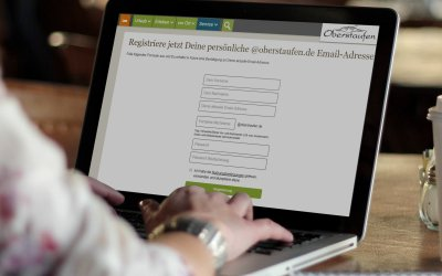 Kostenlose @oberstaufen.com Email-Adresse