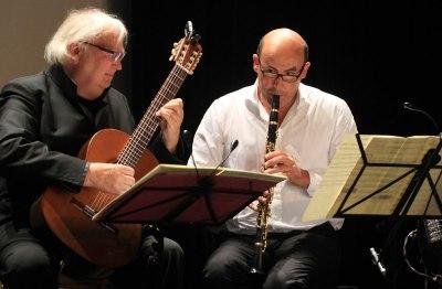 Klaus Hampl und Sigi Schwab