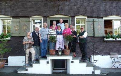 Gästeehrung in der Traube Thalkirchdorf