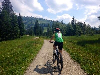 Fahrradtour in Oberstaufen