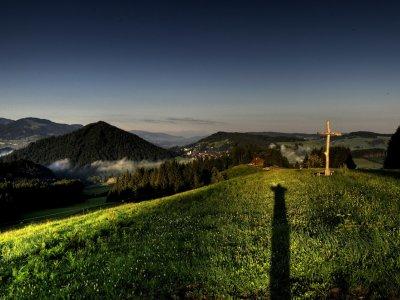 Sonnenaufgang in Oberstaufen