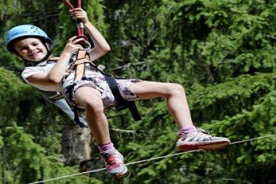 Spass im Klettergarten