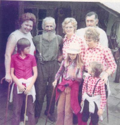 Familie Handke mit Senner Glemm