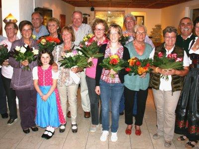 Große Gästeehrung im Hotel Kronenhof am 9. Oktober