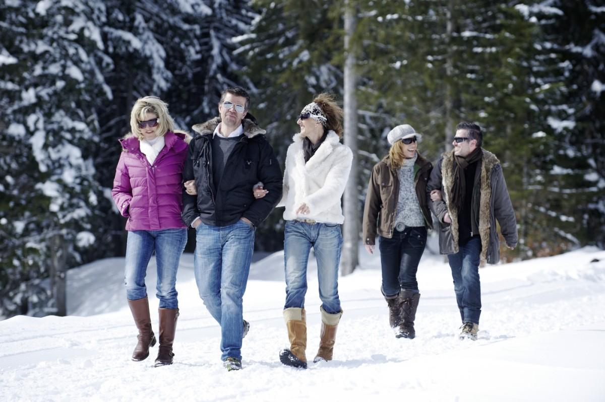 Winterwandern in atemberaubender Winterlandschaft