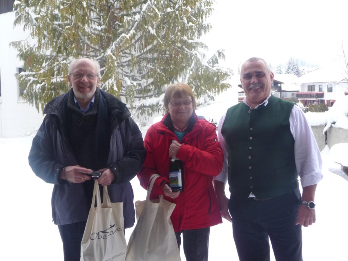 Berti und Helmut Krichel - 20mal in Oberstaufen