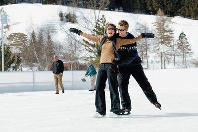 Oberstaufen Eislauf