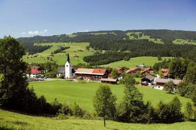 Oberstaufen Ortsteil Aach