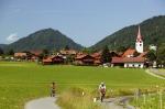 Thalkirchdorf inmitten des Allgäus