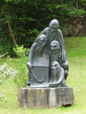 Berggeister Skulptur von Fidelis Bentele-Ücker