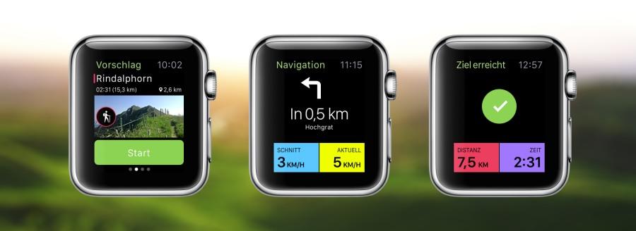 Mit der Apple Watch durch Oberstaufen