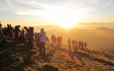 Gottesdienst zum Sonnenaufgang