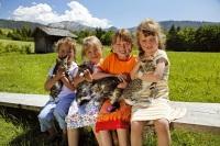 Urlaub für Kinder in ursprünglicher Landschaft