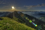 Der Hochgrat bei Oberstaufen