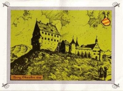 Burg Staufen, 1635