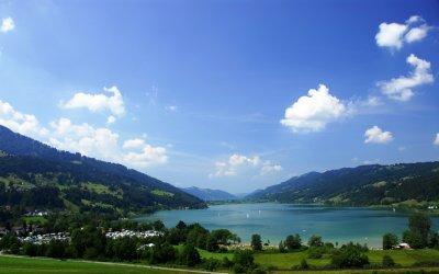 Für Wassersportler ist die Region um Oberstaufen ein Paradies.