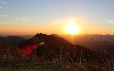 Sonnenaufgang auf dem Hochgrat