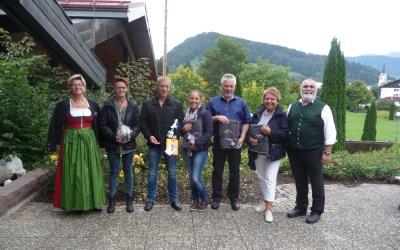 Markus und Andrea Spielmann und Jochen, Gisela und Lisa Steil