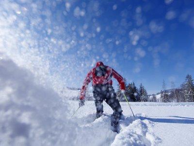 Langlauf in Oberstaufen