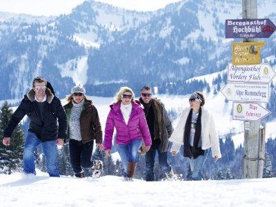 Oberstaufen - Winterwandern