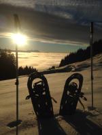 Schneeschuhtour in Oberstaufen