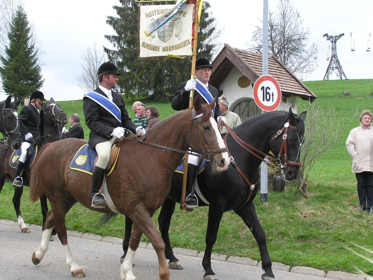 Georgiritt in Steibis mit Festgottesdienst