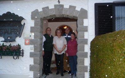 Gästeehrung im Gästehaus Staufen