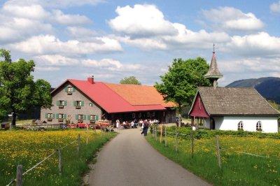 Königsalpe und Gotische Kapelle