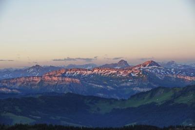 Sonnenaufgang vom Hochgrat