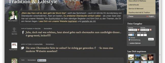 Neue Website oberstaufen.de