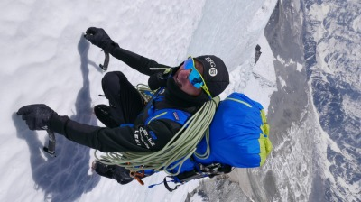 Ueli Steck in Aktion