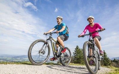 E-Biking in Oberstaufen im Allgäu
