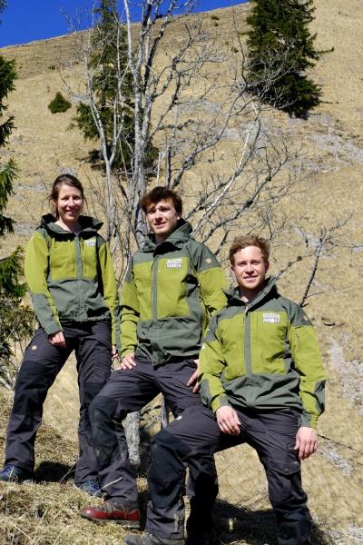 Gruppenbild Ranger Uniform