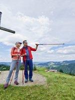 Wandern am Hündle Gipfel