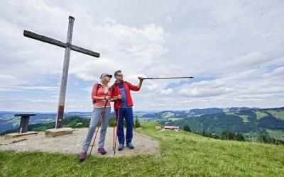 Wandern auf drei Höhenlagen