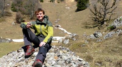 Ranger Florian vom Naturpark Nagelfluhkette