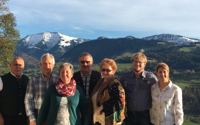 Gästeehrung Berghof am Paradies