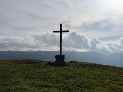 Gipfelkreuz Salmaser Höhe