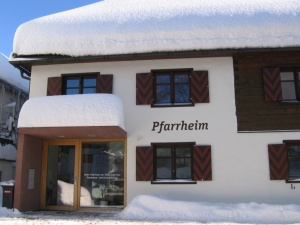 Pfarrheim Winter