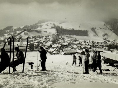 Wintersport in Oberstaufen