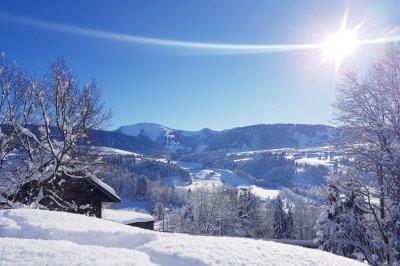 wunderbarer Wintertag