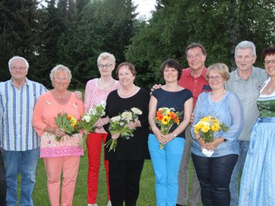 Gästeehrung Kronenhof im Mai