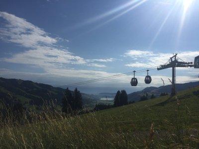 Blick vom Hündle ins Konstanzer Tal