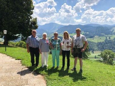 Gästeehrung Juli 2018 - Fr. Behr und Fr. Dahl - Berghof am Paradies